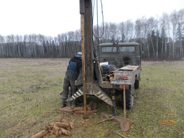 Геологические изыскания для строительства коттеджа