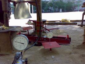 Испытыния грунта вертикальной статической нагрузкой, штампом