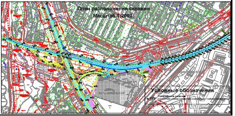 Геологические изыскания для строительства линейных сооружений