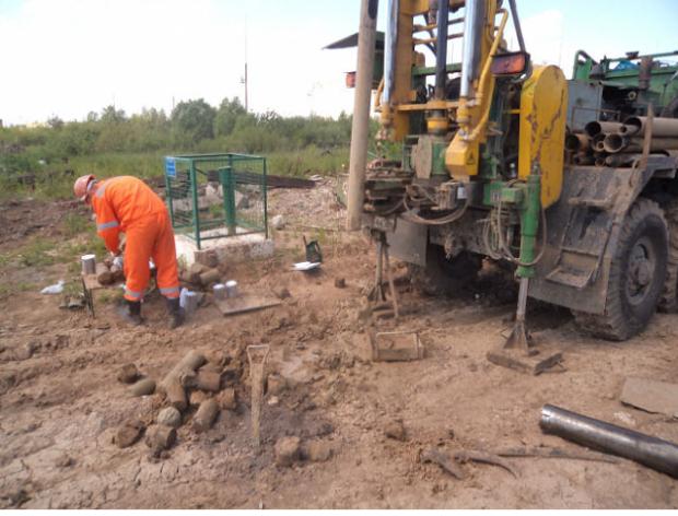 Геологические изыскания в Климовске