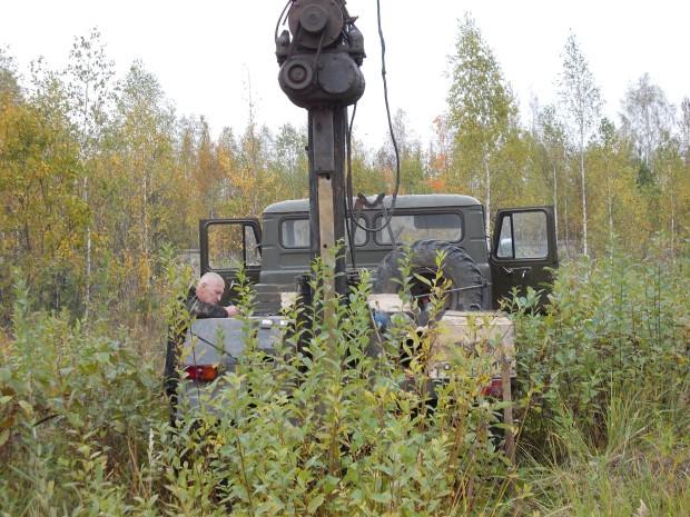 Геологические изыскания в Звенигороде