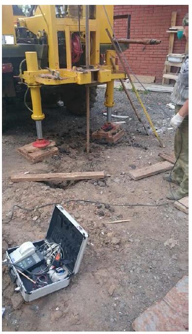 Инженерно-геологические изыскания в Каширском районе. Статическое зодирование
