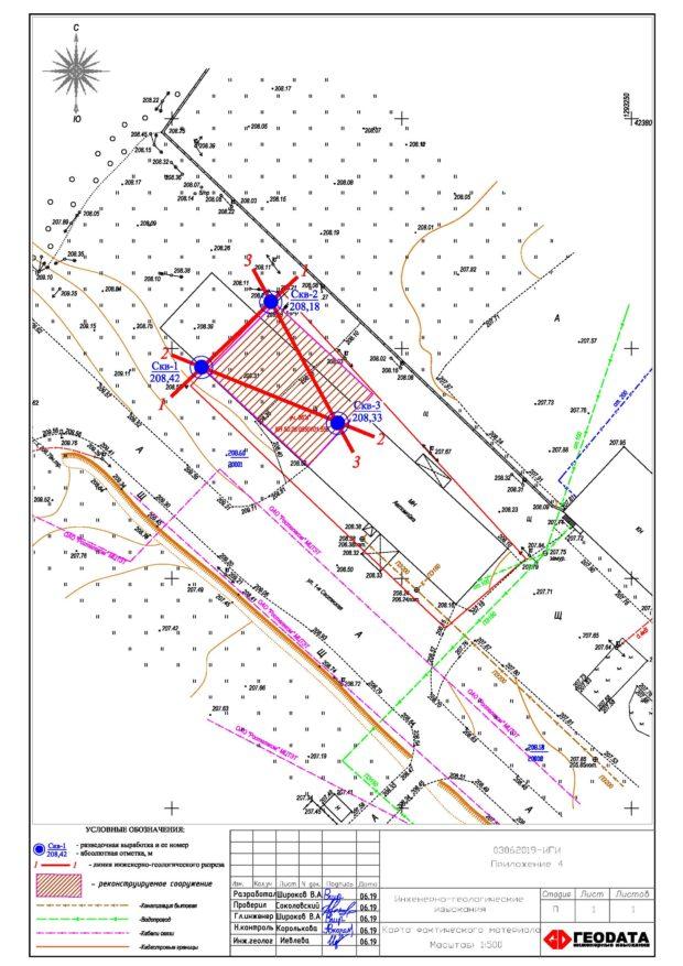 Геологические изыскания в г. Верея